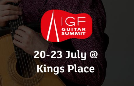 Guitar Summit 2017 at Kings Place